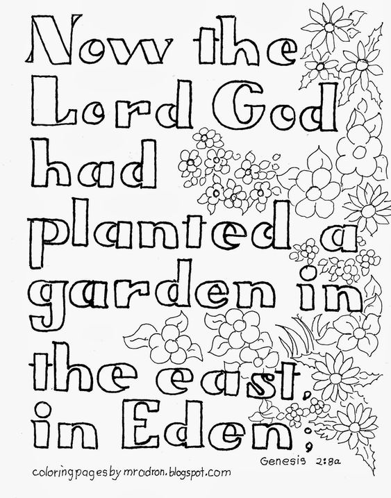 Gardens, Coloring and Coloring pages for kids on Pinterest