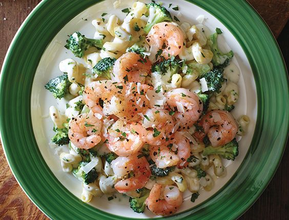 Applebees NEW Shrimp Broccoli Cavatappi Spiralcut
