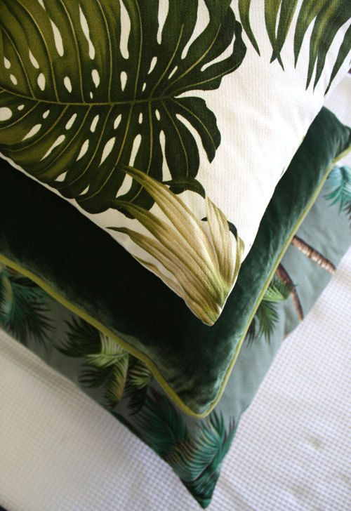 Cushions Retro and Leaves on Pinterest