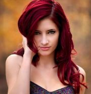 shades of red hair color cool
