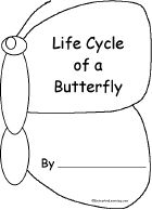 Life Cycle of a Butterfly Book, A Printable Book