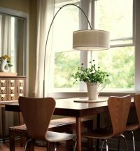 Arc lamp, Lamps and Dining tables on Pinterest