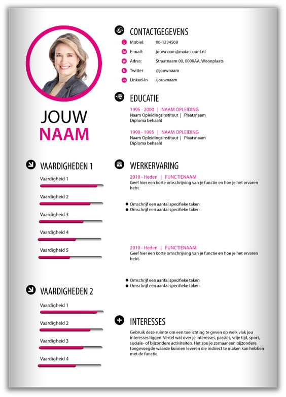 Cv Design Microsoft Word And Microsoft On Pinterest