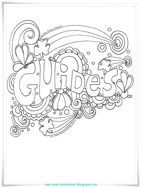 Guides Doodle by Lee Ann Fraser 2016 http://owl-and