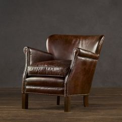 Professor Chair Restoration Hardware Oversized Dining Room Covers I Finally Bought Myself This Professor's Leather In Chestnut Leather. I've Been Eyeing It ...