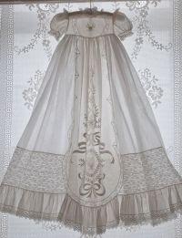 heirloom white christening gown  | Heirloom Sewing Dreams ...