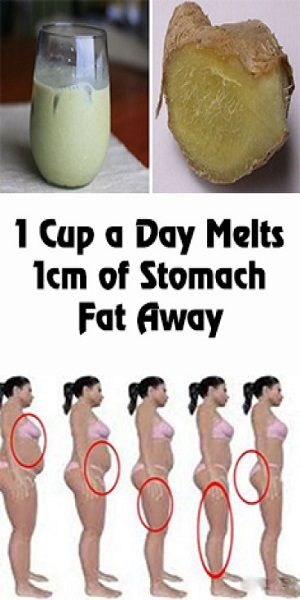 1 Cup a Day Melts 1cm of Stomach Fat Away!:
