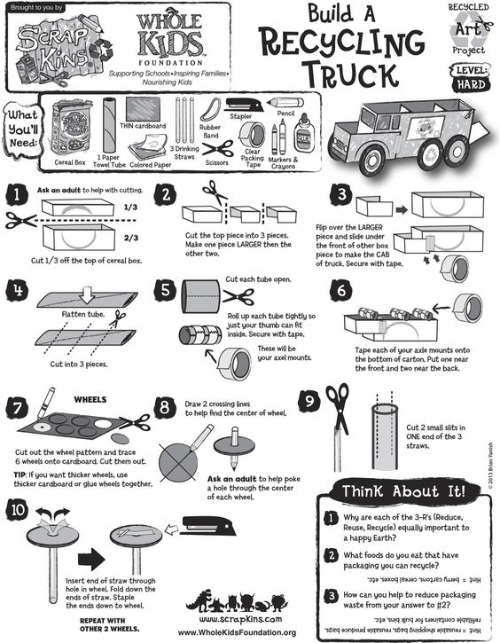 Recycling, Recycled materials and Activities on Pinterest