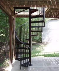 Spiral Stairs | Exterior Spiral Stairs (one day i would ...