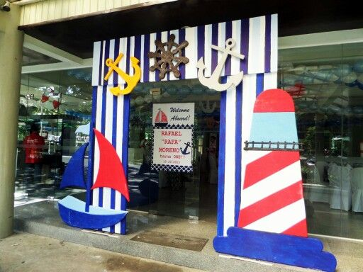 Entrance, Fiestas And Nautical On Pinterest