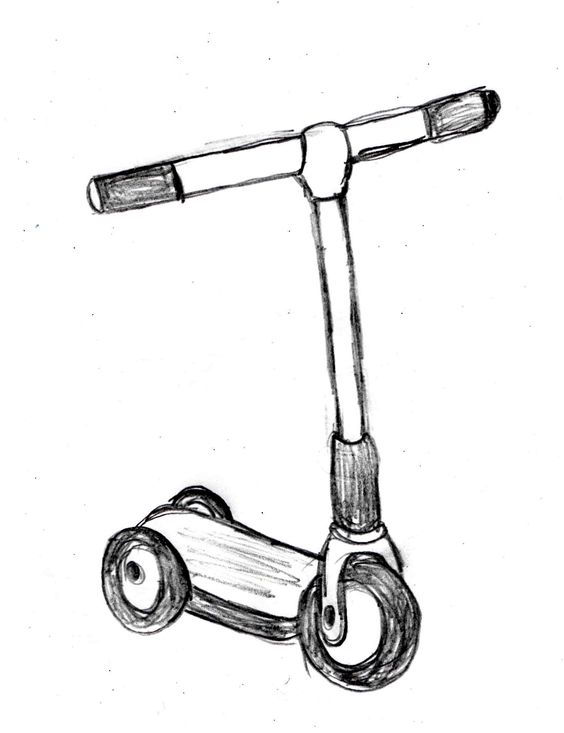 Apps, Drawings and Kick scooter on Pinterest