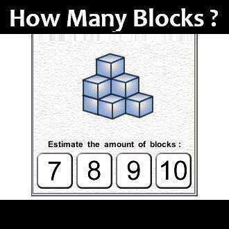 How many blocks do you see ?  #riddle #riddles: