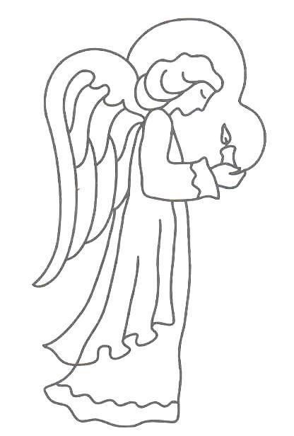 Angel, Angel art and Printable templates on Pinterest