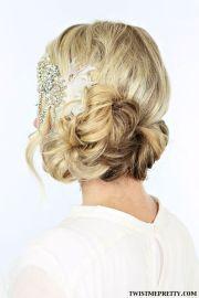 halloween wedding and gatsby hairstyles