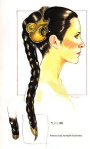 princess leia - concept hair design