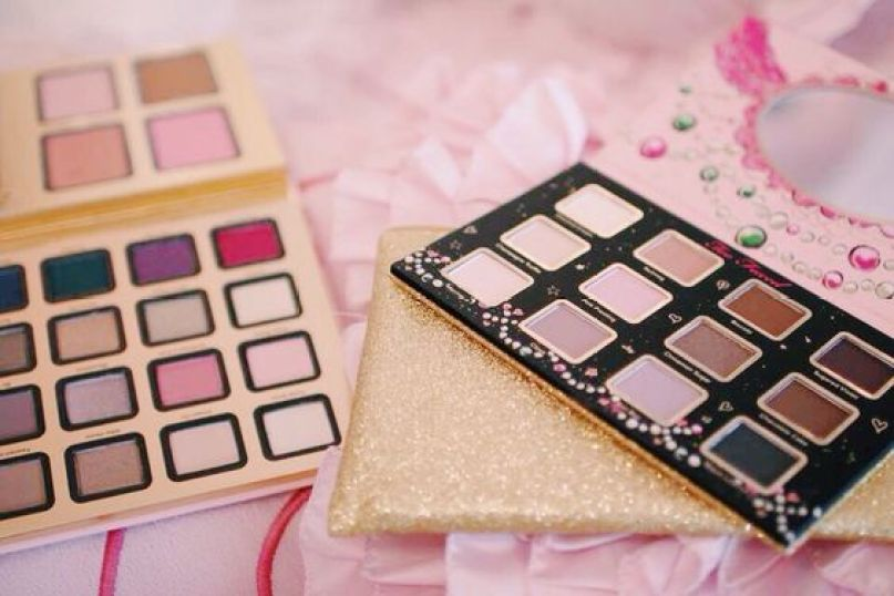 too faced sugar & spice and everything nice palettes ♡: