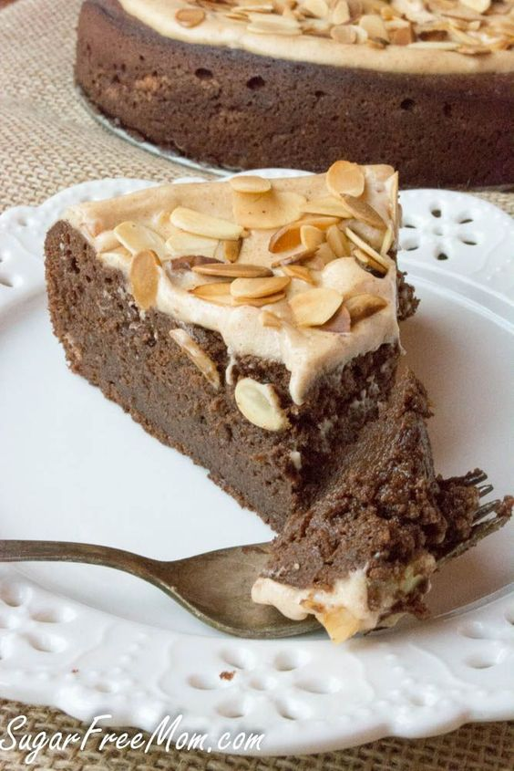 Torte Flourless chocolate and Grain free on Pinterest