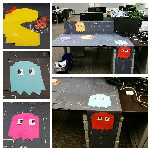 Pacman games Office prank and Pranks on Pinterest