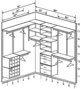 Sample Closet Designs on Closet Freedomrail Systems