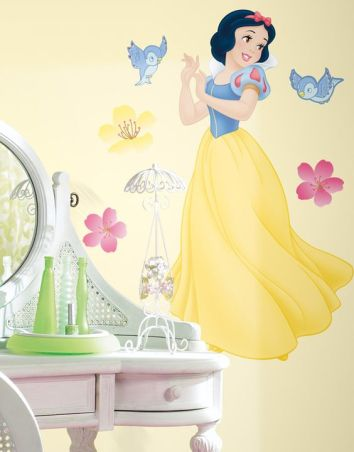 Disney Inspired Rooms Decor Snow White and the Seven Dwarfs Wall Design Decal