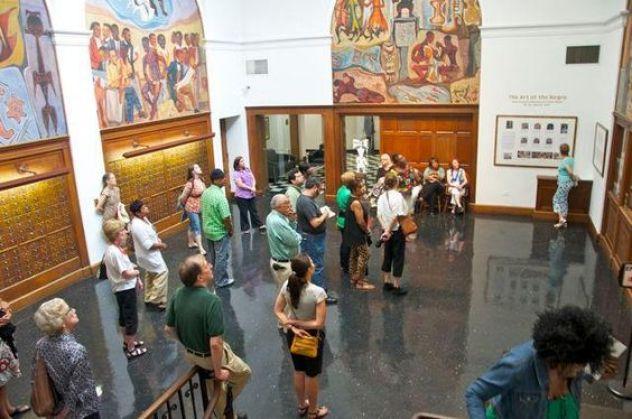 Clark Atlanta Art Gallery Tour ~ July 2012: