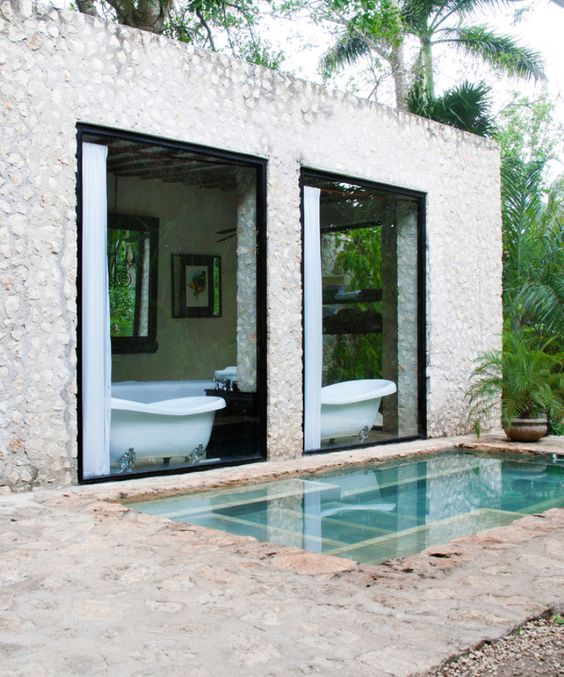 Coqui Coqui Residence and Spa in Mexico via Lonny: