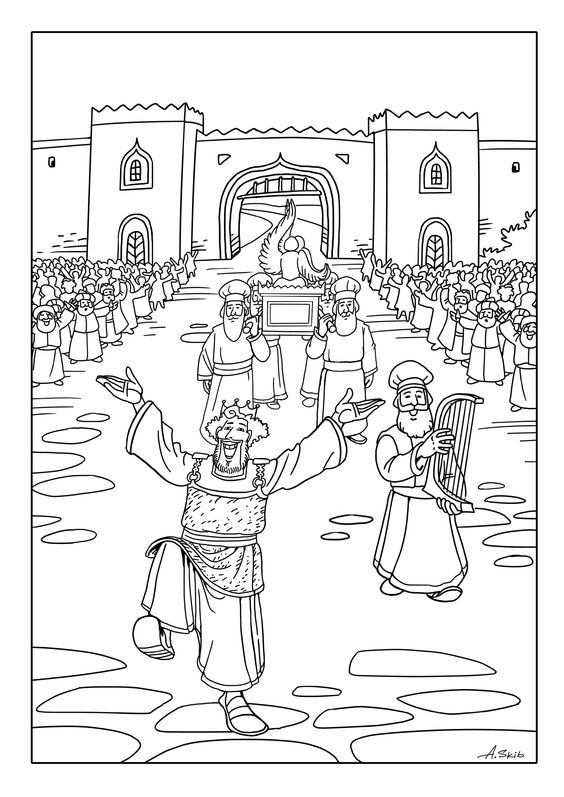 Peter And Cornelius Acts 10 Coloring Page Coloring Pages