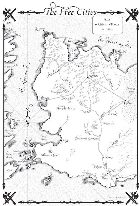 Game of thrones essos map pdf
