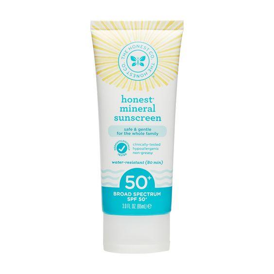 Honest Company Spf 50+ Sunscreen Lotion - 3oz:
