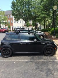 09 Mini JCW w/ Thule M.O.A.B roof rack.