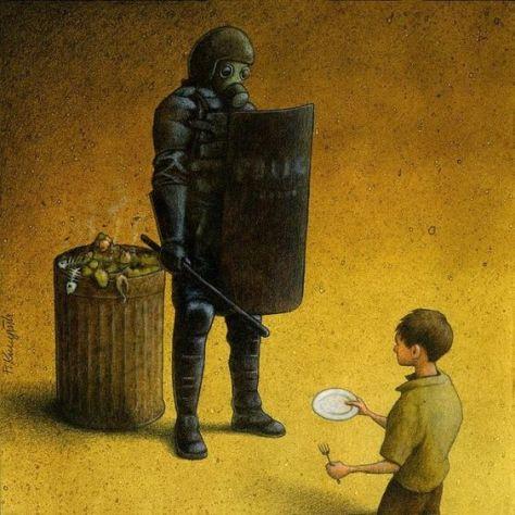 Garbage, Pawel Kuczynski,