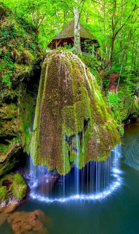Most Beautiful Waterfall in the World Bigar Romania: