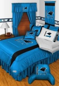 Panthers, Carolina panthers and Bedding on Pinterest