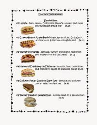 FREE! This FREE 3 page menu can be used to create menu