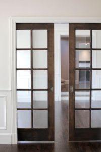 Pocket doors, Doors and Pockets on Pinterest