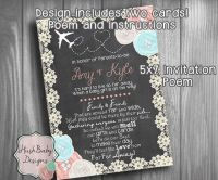 Long Distance Baby or Bridal Shower Invitation by ...