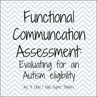 Assessment, Communication and Autism on Pinterest