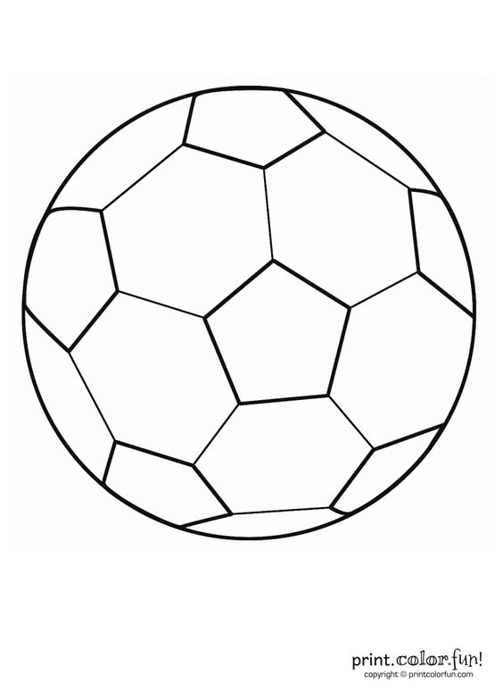 Soccer ball, Soccer and Coloring on Pinterest