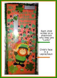 March Classroom door or bulletin board. Saint Patrick's ...