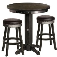 Harley-Davidson Bar & Shield Flames Pub Table & Stool Set ...