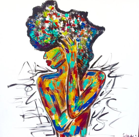 730359e5c3da95e989c5f0ab28ae1f69 BSB Feature: Whitney Austin- NC Belle Makes Gorgeous Afrocentric Art