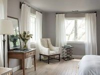 Gray Walls White Trim What Color Curtains - light blue ...