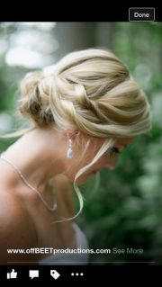 bridal hair and twists