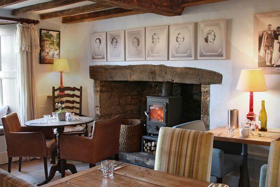 The Swan Inn Swinbrook - Cotswolds Restaurant: