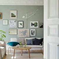 35 ways to use sage green | Living rooms, Green living ...