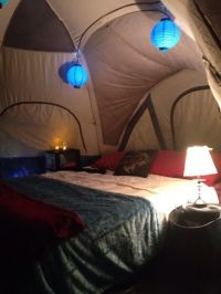 romantic camping. glamping. camping in the fall. camping ...