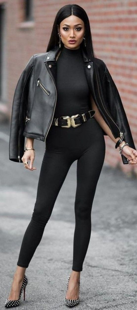 All Everything Black Catwoman Outfit Idea   Micah Gianneli: