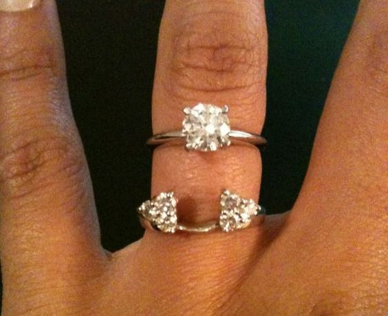The Most Beautiful Wedding Rings Solitaire Wedding Ring Wraps
