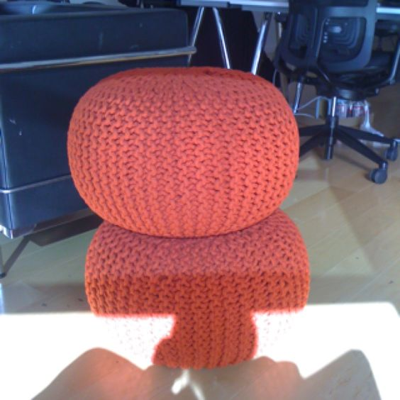 Poof ball chair from CB2  For the Home  Pinterest