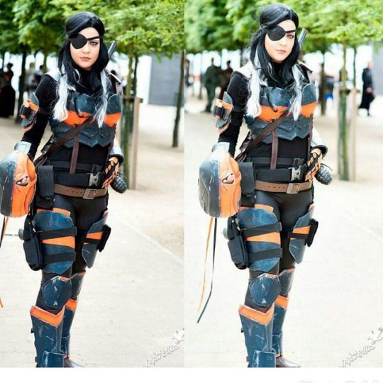 Lady Deathstroke Cosplay Costumes Pinterest Posts